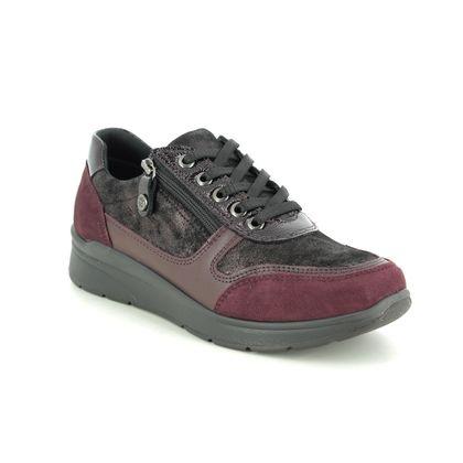 IMAC Comfort Lacing Shoes - Wine - 7980/5908019 ALFALACE 05
