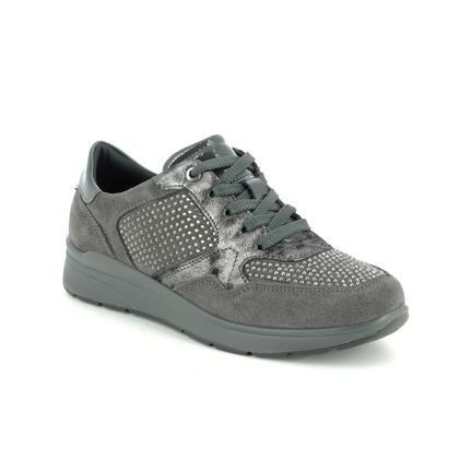 IMAC Trainers - Grey Suede - 6680/7104011 ALFALACE 95