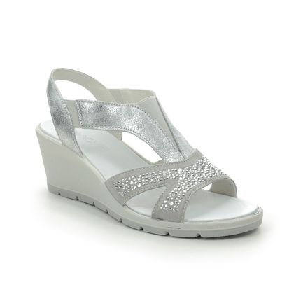 IMAC Wedge Sandals - Silver Glitz - 8170/72105018 BETA