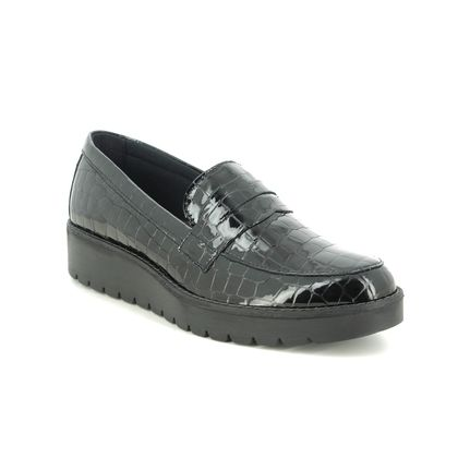 IMAC Loafers and Moccasins - Black croc - 5360/4160011 BRITNEY MOCC G