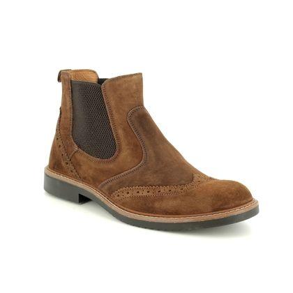 IMAC Chelsea Boots - Tan Suede - 0851/78061017 CALLING CHELSEA