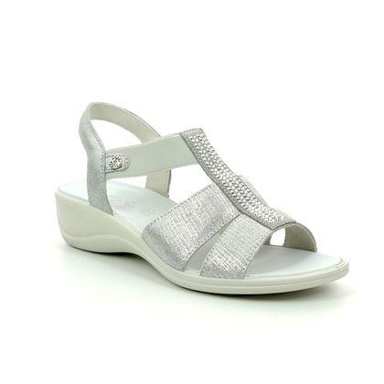 IMAC Comfortable Sandals - Silver - 8620/72129018 CATHRYN GLITZ