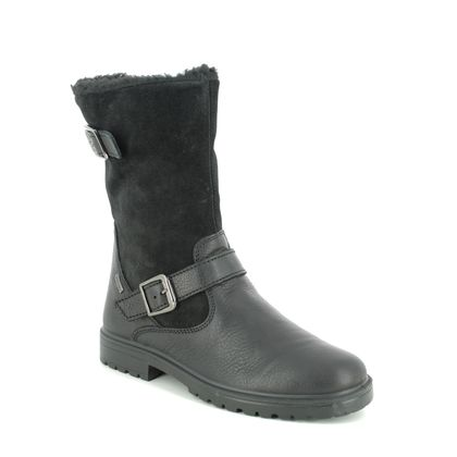 IMAC Girls Boots - Black - 0618/1706011 CHRIS HI TEX