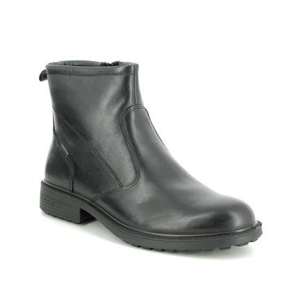IMAC Chelsea Boots - Black leather - 0338/1968011 CITYBOOT TEX 95