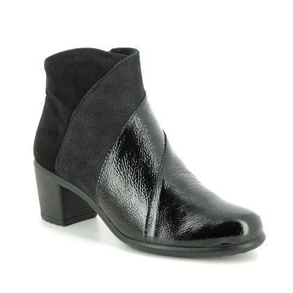 IMAC Boots - Ankle - Black patent suede - 6040/4200011 DAYTOGLAM