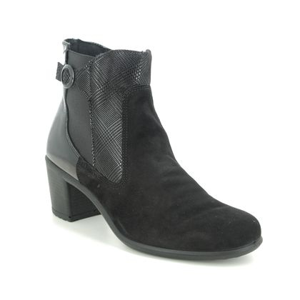 IMAC Heeled Boots - Black Suede - 6090/5920011 DAYTONETS 05