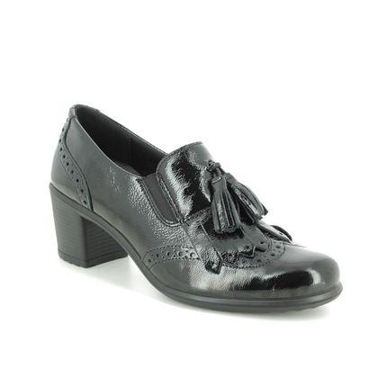IMAC Comfort Slip On Shoes - Black patent - 6020/4200011 DAYTOTASSLE