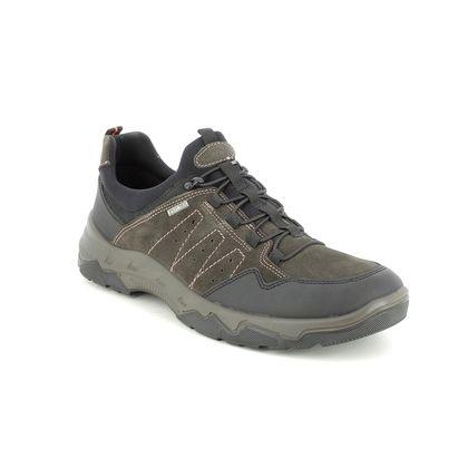 IMAC Slip-on Shoes - Brown Suede - 2618/72153015 ELVIN BUNGEE TEX