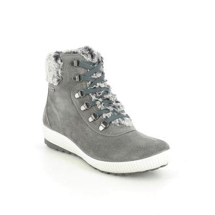 IMAC Ankle Boots - Grey-suede - 7079/7170018 FANARO TEX