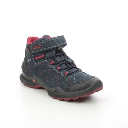 IMAC Boys Boots - Navy Red - 2068/7030003 FOXY BUNGEE TEX