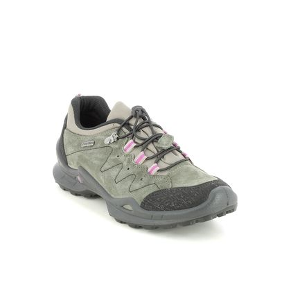 IMAC Walking Shoes - Green Suede - 8809/70049011 FOXY   LO TEX