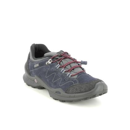 IMAC Walking Shoes - Navy suede - 8809/7171009 FOXY   LO TEX