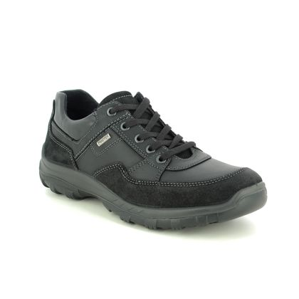 IMAC Casual Shoes - Black leather - GORDON TEX 11