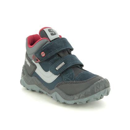 IMAC Boys Boots - Navy suede - 2188/7030003 HALLER TEX 05