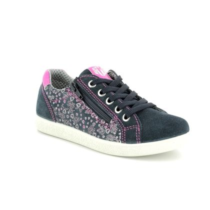 IMAC Girls Trainers - Navy Suede - 130330/703006 HOLLY