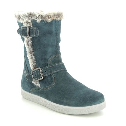 IMAC Girls Boots - Navy suede - 0028/7030013 HOLLY FUR TEX