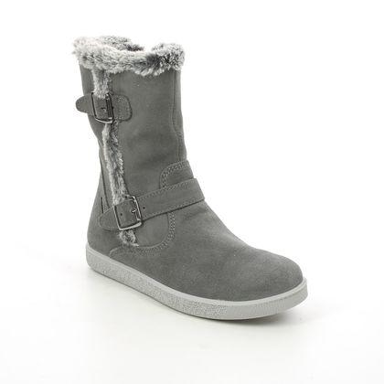IMAC Girls Boots - Grey-suede - 0048/7004018 HOLLY  FUR TEX