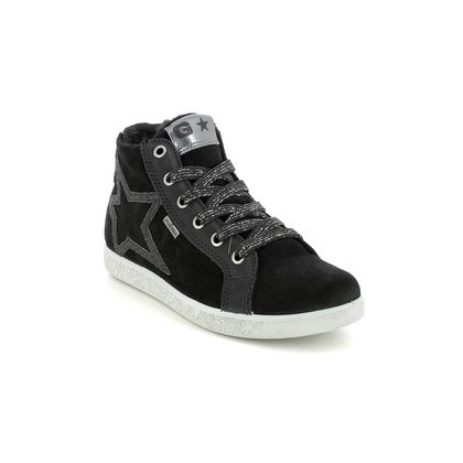 IMAC Girls Boots - Black suede - 0018/7000018 HOLLY  HT TEX