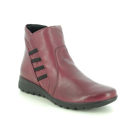 IMAC Ankle Boots - Red leather - 7520/54178019 KAREN BOOT