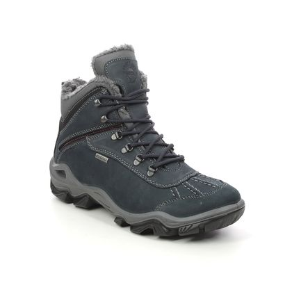IMAC Walking Boots - Navy leather - 8708/3001009 PATH 37 TEX