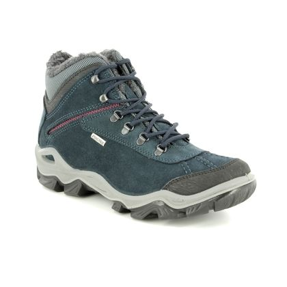 IMAC Walking Boots - Navy Suede - 9729/7030009 PATH 37 TEX
