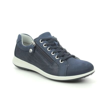 IMAC Trainers - Navy leather - 6610/54221009 PLURIEL 11