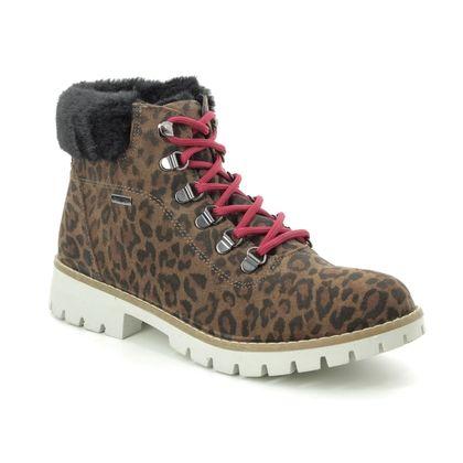 IMAC Boots - Ankle - Leopard print - 9258/72251013 ROCKET 37 TEX