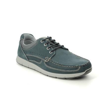IMAC Casual Shoes - Navy nubuck - 1880/3019018 SANDERO
