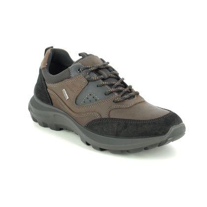 IMAC Walking Shoes - Brown leather - 3348/3474011 SHERMAN TEX