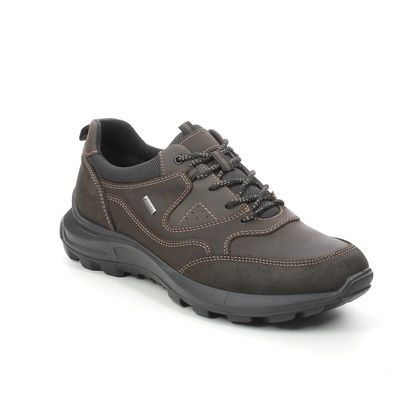 IMAC Walking Shoes - Brown waxy leather - 3648/3474017 SHERMAN TEX