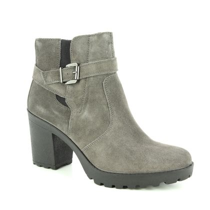 IMAC Fashion Ankle Boots - Grey-suede - 7731/7170018 VICKY