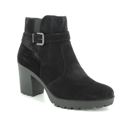 IMAC Boots - Ankle - Black Suede - 8401/7150011 VICKY