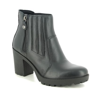 IMAC Boots - Ankle - Black leather - 8800/1400011 VICKY