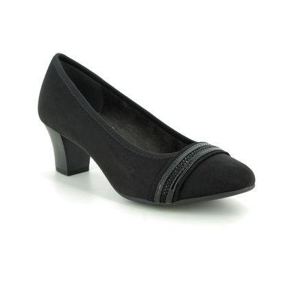 Jana Court Shoes - Black - 22474/23001 ABURA 95 H FIT