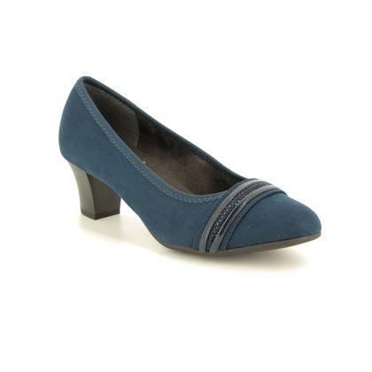 Jana Court Shoes - Navy - 22474/23805 ABURA 95 H FIT