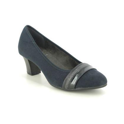 Jana Court Shoes - Navy - 22460/25805 ABUSTRAP