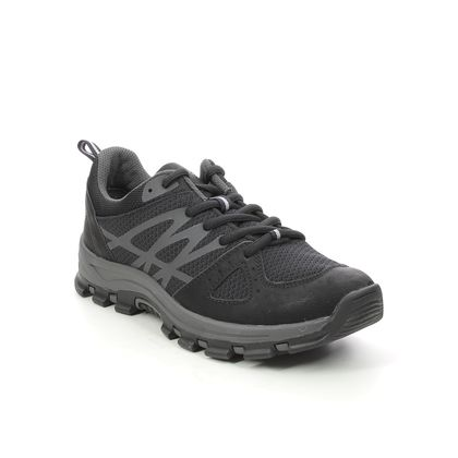 Jana Walking Shoes - Black - 23735/27001 BANDLO WIDE TEX