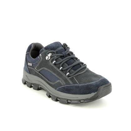 Jana Walking Shoes - Navy - 23736/27805 BANDLO WIDE TEX