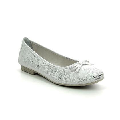 Jana Pumps - Silver - 22162/24193 BIRAGO 1 H FIT