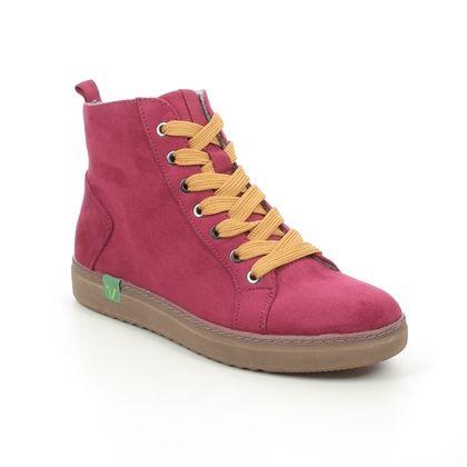 Jana Ankle Boots - Red - 25280/27569 DURLHIT VEGAN