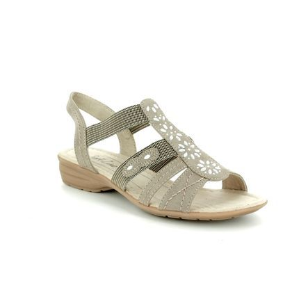 Jana Comfortable Sandals - Light taupe - 28163/20/347 ELEAJANA 81 H FIT