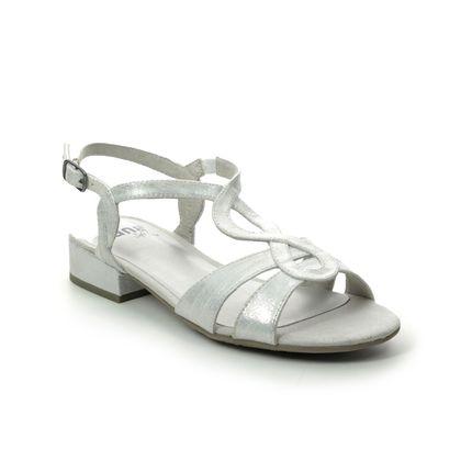 Jana Heeled Sandals - Silver - 28262/24193 KOLJA H FIT