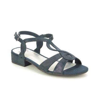 Jana Heeled Sandals - Navy - 28262/24897 KOLJA H FIT