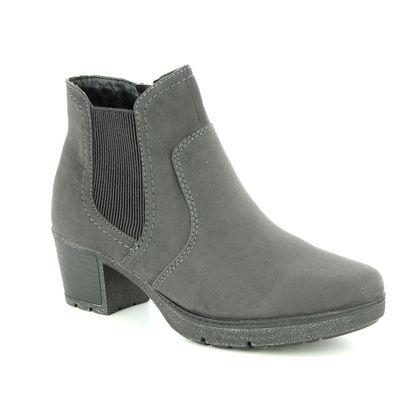 Jana Fashion Ankle Boots - Charcoal - 25469/21/207 LILY