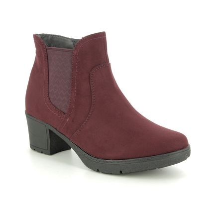 Jana Boots - Ankle - Wine - 25469/23502 LILY 95 H FIT