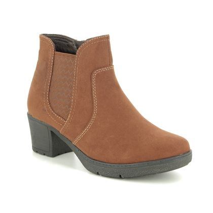Jana Ankle Boots - Tan - 25469/23305 LILY 95 H FIT