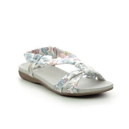 Jana Comfortable Sandals - Floral print - 28164/24149 MANILA H FIT