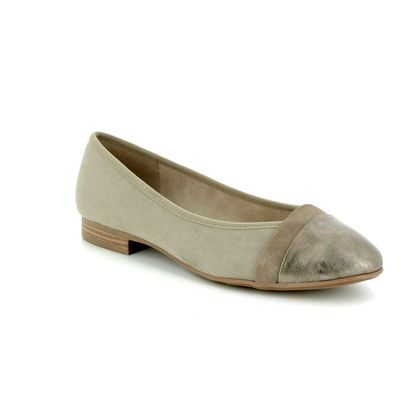 Jana Pumps - Light taupe - 22165/20/347 MENA 81 H FIT