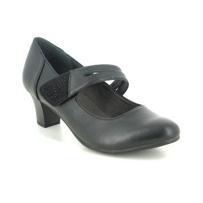 Jana Mary Jane Shoes - Black - 24464/25001 MESSI 05
