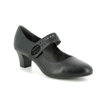 Jana Court Shoes - Black - 24462/22001 MESSI 91